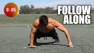 Push-Up Workout In 5 Minutes | In Home by Onlykinds Fitness [5 Minute Workouts]