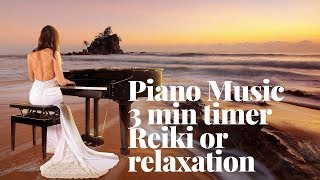 reiki music 3 minutes bell piano - TH-Clip