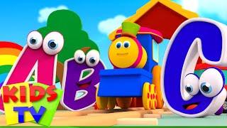 Bob The Train | ABC Song | Alphabet Train