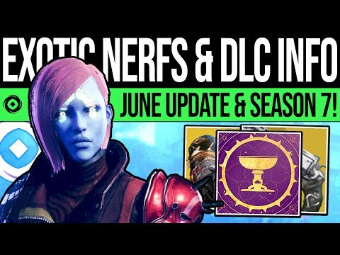 Destiny 2 | OPULENCE UPDATE & HUGE EXOTIC NERFS! DLC Patch, Weapon Changes, New Content & Season 7!