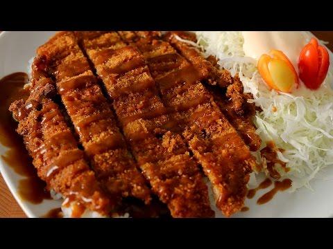 Korean style pork cutlet (Donkkaseu: 돈까스)