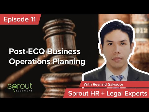 Episode 11: Post ECQ Business Operations Planning