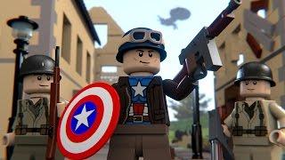 LEGO WWII CAPTAIN AMERICA