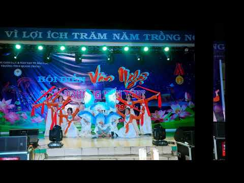 Hội diễn văn nghệ chào mừng 37 năm ngày nhà giáo Việt Nam 20/11 của trường THCS Quang Trung - Bảo Lộc!
