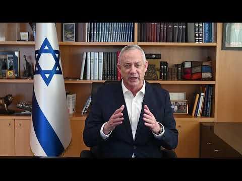 גנץ על המהומות בקפיטול: לא אתן לזה לקרות בישראל • צפו