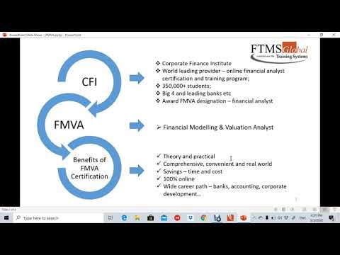 What is CFI | Financial Modeling Analyst Program