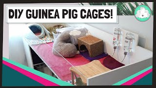 Guinea Pig Indoor C&C And DIY Cages 2020 | Build And Design Your Own Custom Cage!