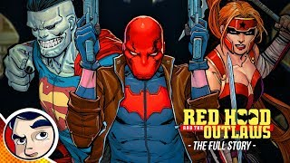 "Red Hood Rebirth ""Dark Trinity To Batman Exiled""   Full Story 