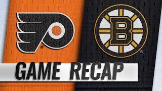Chara, Halak help Bruins blank Flyers
