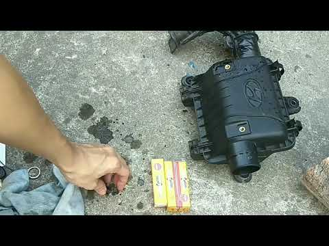 PCV valve cleanning for hyundai Eon