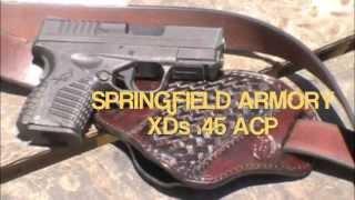 Springfield Armory XDs 45 acp Shooting Steel