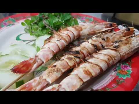 Fresh seafood in Danang, Vietnam - Ăn hải sản tươi sống ở Đà Nẵng