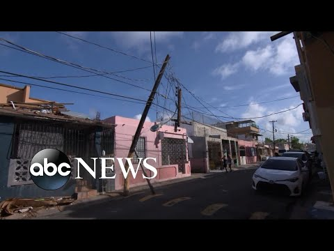 Governor of Puerto Rico announce power restoration effort