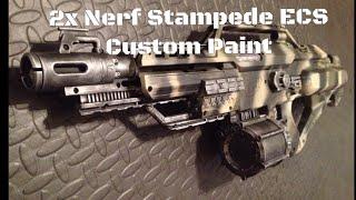 nerf modulus ecs-10 paint job - मुफ्त ऑनलाइन वीडियो
