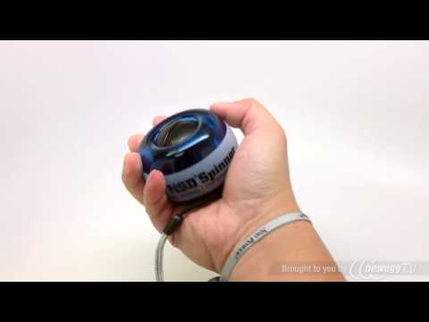 Product Tour: NSD Power® Performance LED Spinner Gyroscopic Wrist and Forearm Exerciser