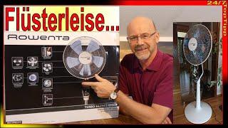 Rowenta Ventilator ❆ extrem leise [ alternative u. Ergänzung zu Klimaanlage u. Klimagerät ] Review