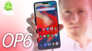 OnePlus 6 Hands-On Preview: Gestures, Notch Display + First Impressions