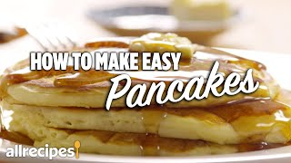 homemade easy pancakes without milk