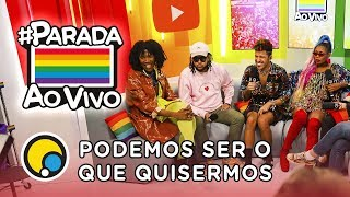 Emicida, Majur E Leona Vingativa Participam Da #ParadaAoVivo