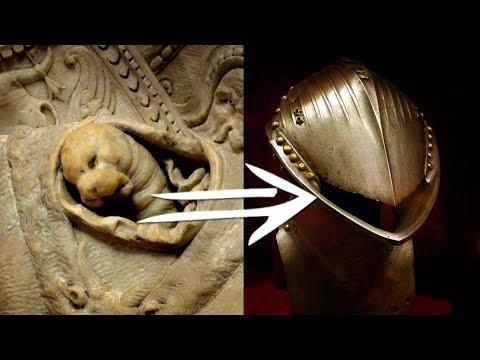 Внутри доспехов прятались рептилоиды или молюски?  Часть 1