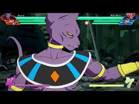 Dragon Ball FighterZ Beerus character breakdown de Dragon Ball FighterZ