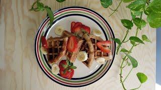 easy whole wheat belgian waffle recipe