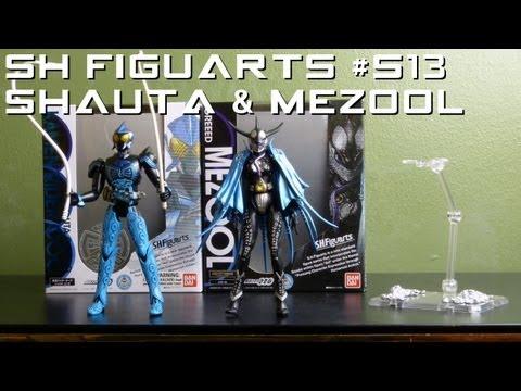 Ranger Review Specials 13 Kamen Rider OOO SH Figuarts Shauta Combo & Greed Mezool