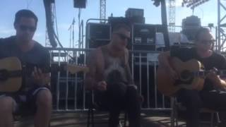 "Eve 6 - ""Curtain (acoustic)"" live at Stone Pony Summerstage 8-21-2015"