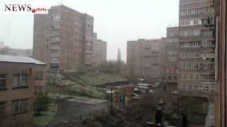 Երևանում ձյուն է գալիս