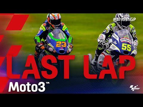 Moto3 2021 第12戦イギリス 最終ラップの走りをまとめた動画