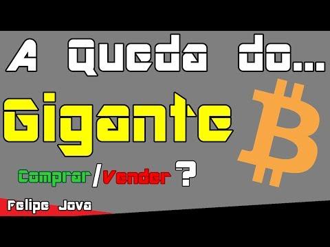 Bitcoin Em Queda Comprar/Vender ?