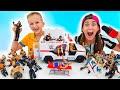 Download Lagu Vlad and Niki have fun with WWE Toys Mp3 Free