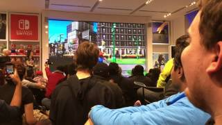 Nintendo NY- Super Mario odyssey Trailer Reaction