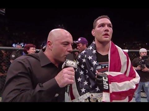 UFC 175: Main Event Octagon Interview