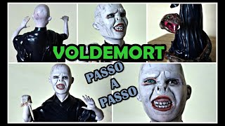 LORD VOLDEMORT - PASSO A PASSO COMPLETO EM BISCUIT