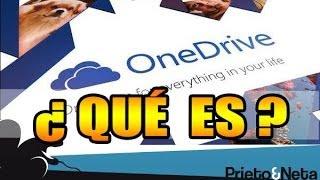 PC: ¿Qué es OneDrive? Ya está disponible !!!