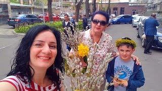 Влог с Улиц Весеннего Еревана! Много Ярких Красок и Позитива!