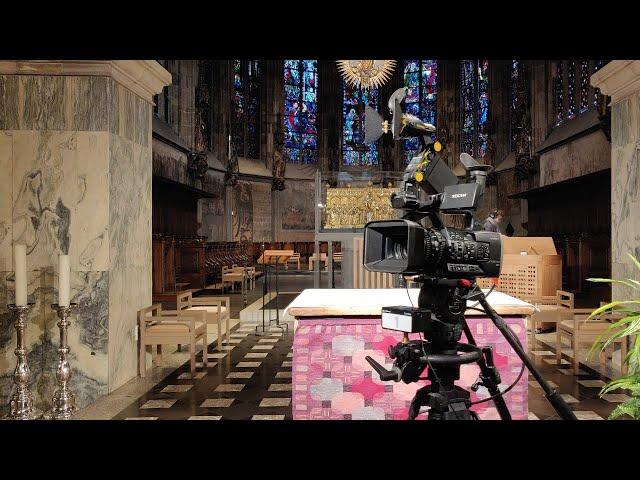 Live aus dem Aachener Dom: Pontifikalamt am Ersten Weihnachtstag, 10 Uhr