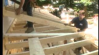Framing The Porch Roof