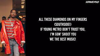 DJ Khaled - Iced Out My Arms Ft. Future, Migos, 21 Savage & T.I. (Lyrics)
