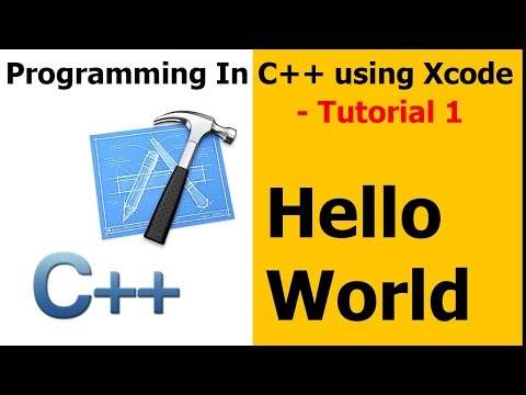 Programming In C++ / Xcode || Tutorial 1 - Hello World Mp3