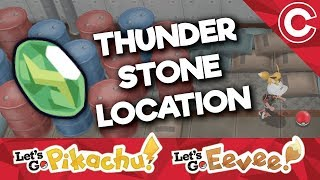 Where To Find a Thunder Stone - Let's Go Pikachu/Eevee