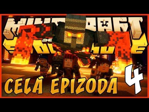 OBŘÍ LÁVOVÝ GOLEM - CELÁ 4. EPIZODA! |  Minecraft Story Mode: Season 2 | Pedro