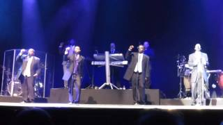 THE DRIFTERS in Manchester 6th Oct '15  -  'Like Sister & Brother'