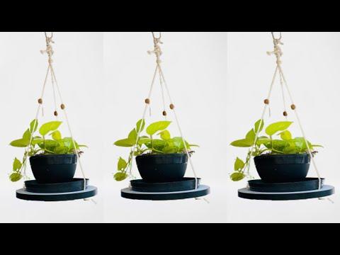 , title : 'Easiest Indoor plant hanger Malayalam