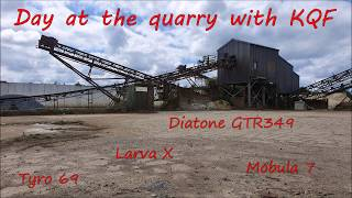 Trip with KQF for some fpv freestyle in a quarry