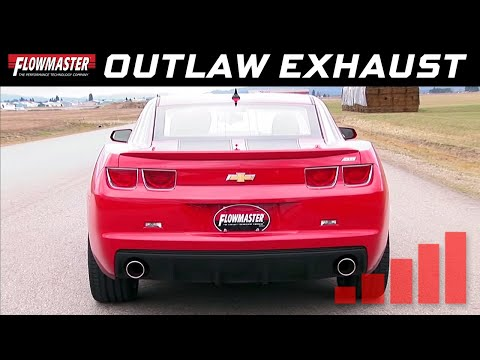2010-13 Camaro SS 6.2L - Outlaw Axle-back Exhaust System 817504