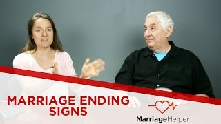 Marriage Ending Signs