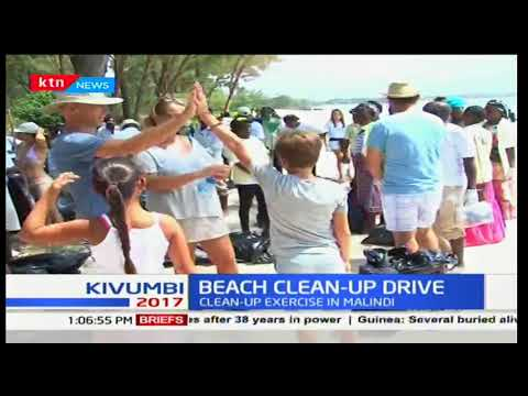 Beach clean up exercise in Malindi aimed at riding the shore-line with plastic to save marine life