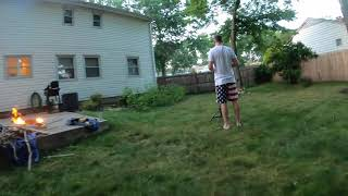 Flying fpv in New Jersey, my friends trust me. How to drone in the backyard.